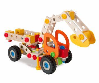 Set Excavator, Heros Constructor 175 piese (5 modele)