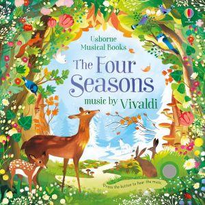 Carte muzicala Anotimpurile de Vivaldi, Usborne