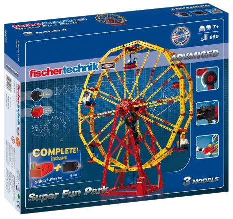 Set constructie ADVANCED Super Fun Park - 3 modele