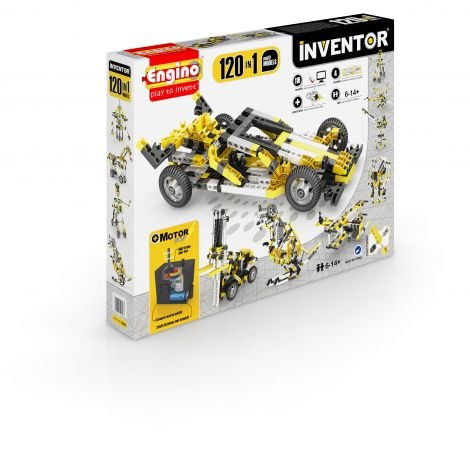 INVENTOR 120 MODELE SET MOTORIZAT - MODELE MULTIPLE