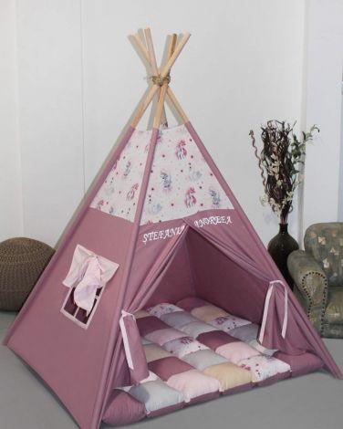 Set cort de joaca Magie roz
