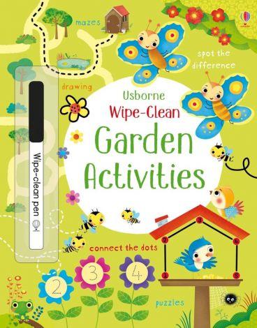 Garden Activities Wipe Clean, Usborne
