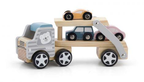 Camion transportor cu 3 masinute, PolarB Viga