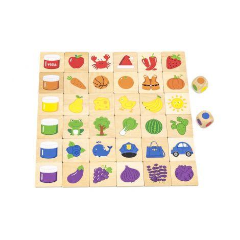 Puzzle sortator Invata culorile, Viga