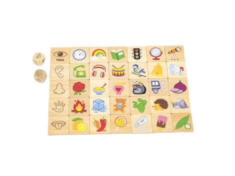 Puzzle sortator Invata simturile, Viga