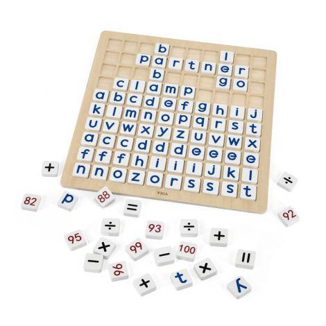 Invata alfabetul si aritmetica, Viga