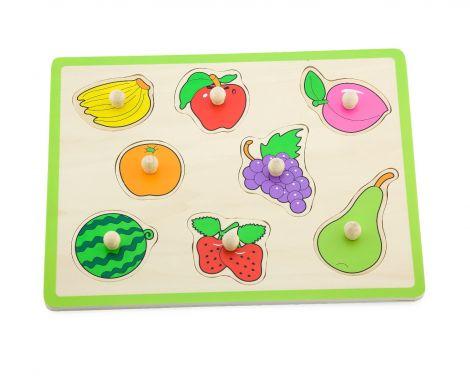 Puzzle cu maner - Fructe, Viga