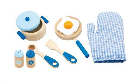 Set accesorii pentru gatit - albastru, Viga