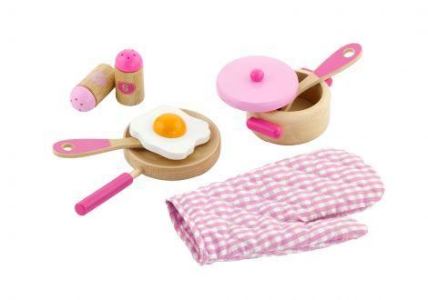Set accesorii pentru gatit - roz, Viga
