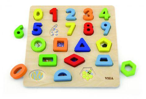 Puzzle 3D Numere si forme, Viga