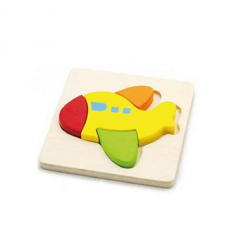 Puzzle din lemn - avion, Viga