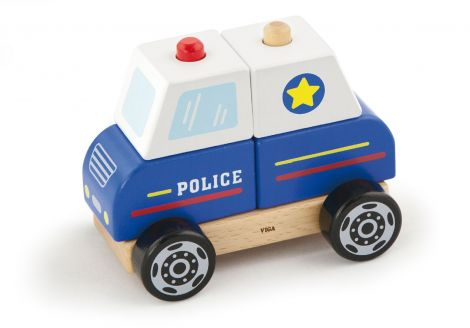 Masina de politie de stivuit, Viga