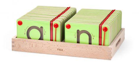 Set magnetic de scriere - Litere mici, Viga