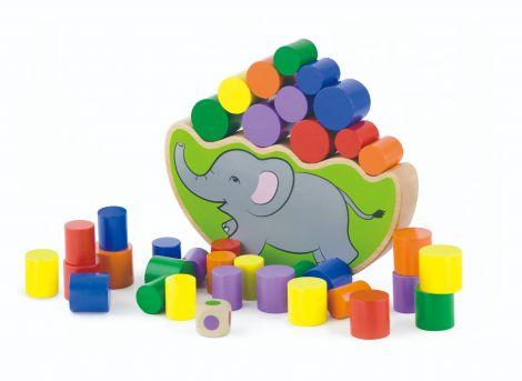 Elefantul echilibrist – joc de balans, Viga