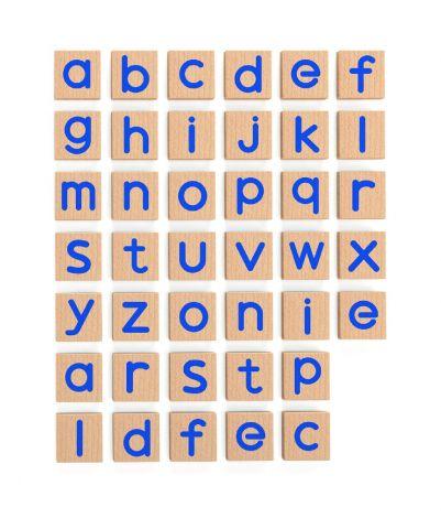 Set magnetic litere mici 40 buc, Viga