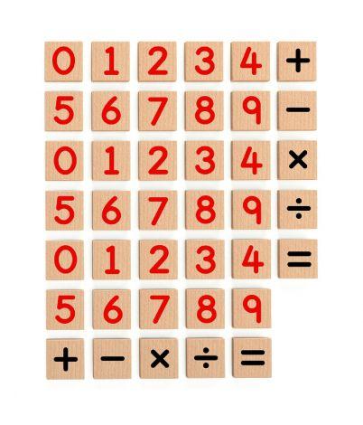 Set magnetic cifre 40 buc, Viga
