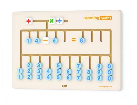 Jucarie de perete - Invata matematica, Viga