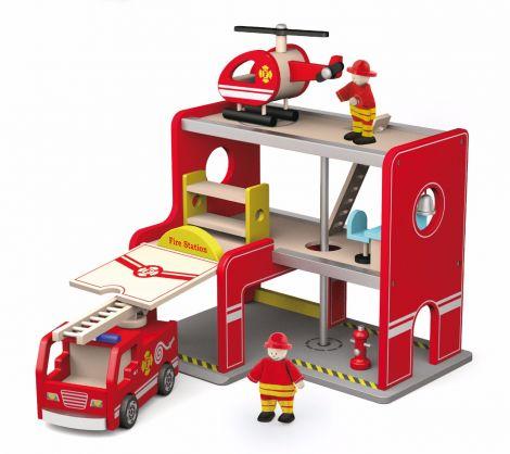 Statie de pompieri, Viga