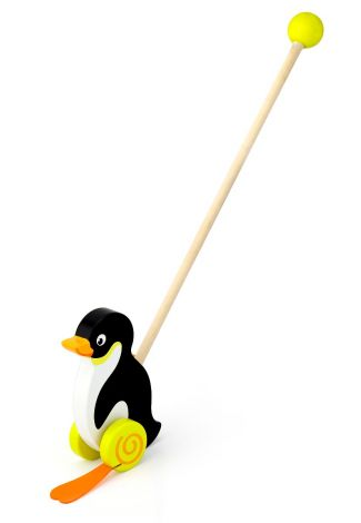 Jucarie de impins - Pinguin, Viga