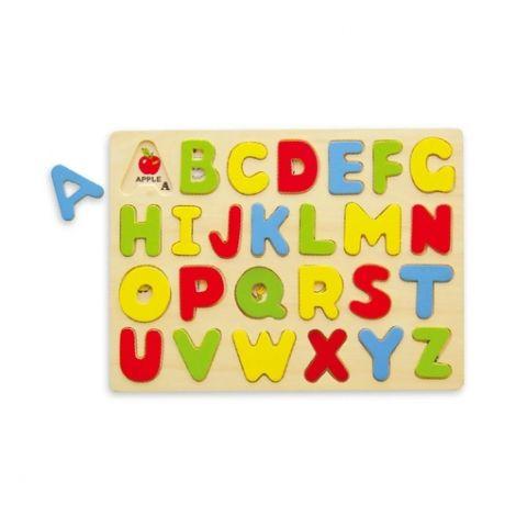 Puzzle cu litere mari de tipar, Viga