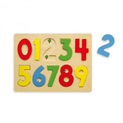 Primul meu puzzle cu numere, Viga