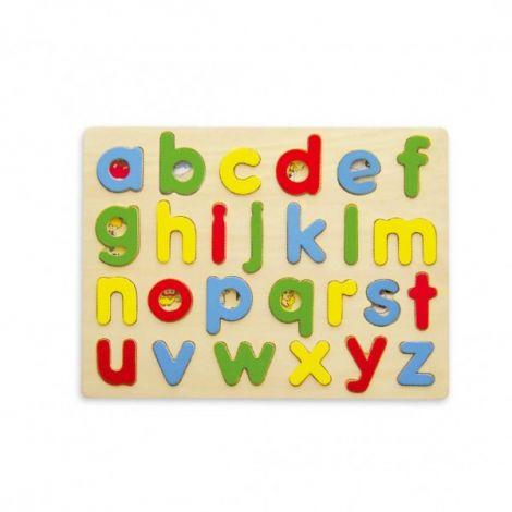 Puzzle cu litere mici, Viga