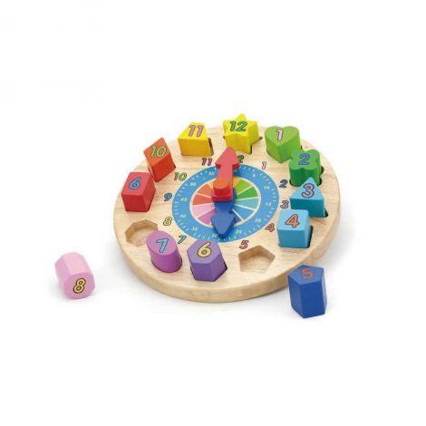 Puzzle sortator cu ceas, Viga