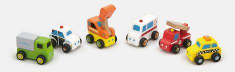 Set de 6 minivehicule - serviciul de urgente, Viga