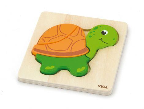 Puzzle din lemn - broscuta testoasa, Viga