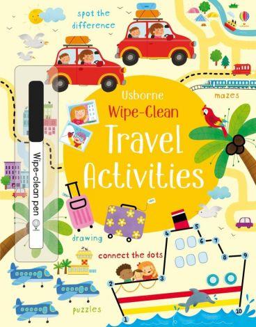 Travel Activities Wipe Clean, Usborne
