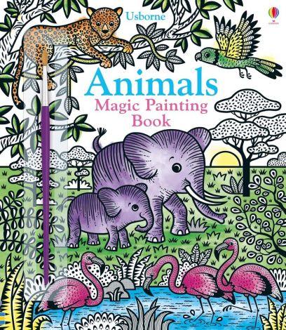 Magic Painting Animals, Usborne