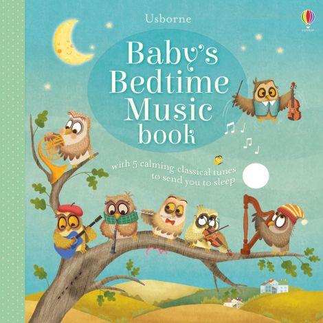 Carte muzicala Baby's Bedtime Music Book, Usborne