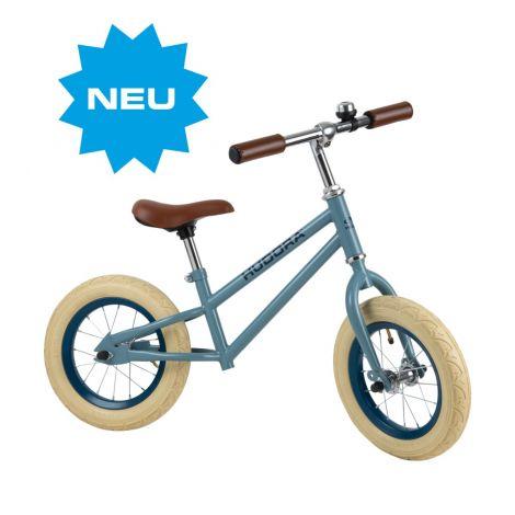 Bicicleta de echilibru retro albastra, Hudora