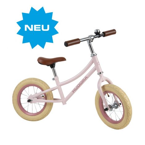 Bicicleta de echilibru retro roz, Hudora