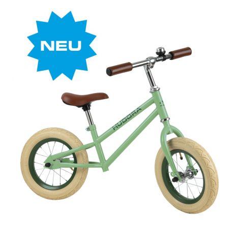 Bicicleta de echilibru retro verde, Hudora