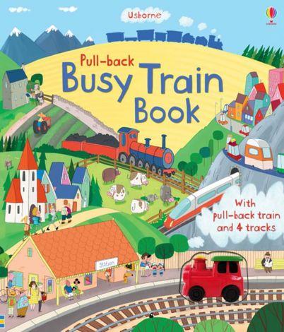 Busy Train Book (carte cu jucarie tren)