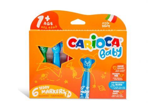 Carioca Baby Marker, varsta 1+, 6/set