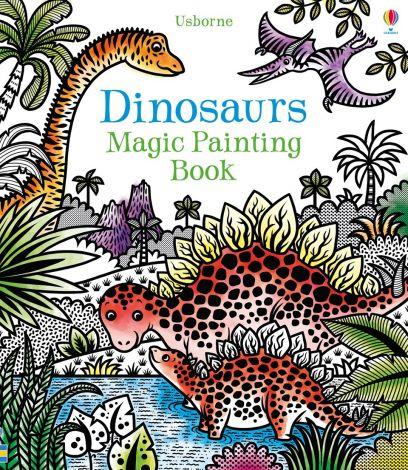 Dinosaurs magic painting book, Usborne