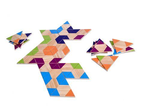 Joc Domino triunghiular, BS Toys