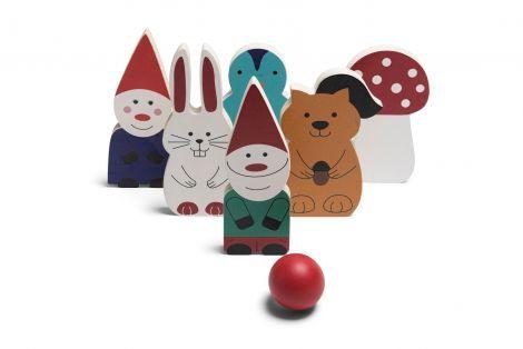 Joc Prietenii de bowling din padure, BS Toys