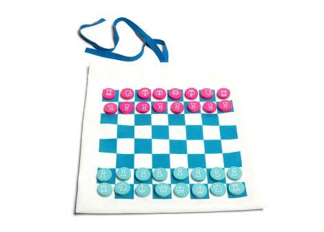 Jocuri de calatorie Sah, Dame, Tic Tac Toe (X si 0), BS Toys