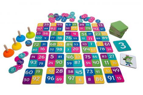 Joc matematic Tinutele crocodilului, BS Toys