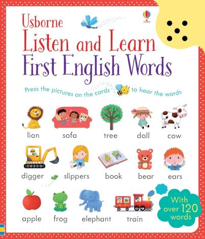 Listen and Learn First English Words, Usborne
