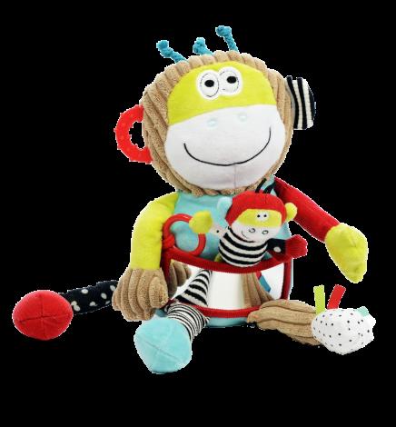 Maimuta Charlie, jucarie interactiva cu activitati, Dolce