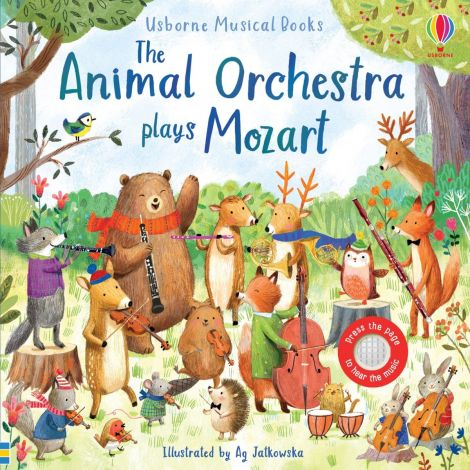 The Animal Orchestra Plays Mozart, Usborne