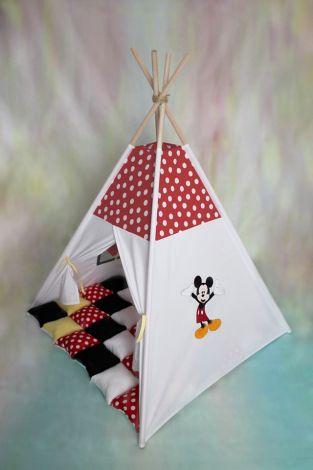 Set cort de joaca Prietenii lui Mickey