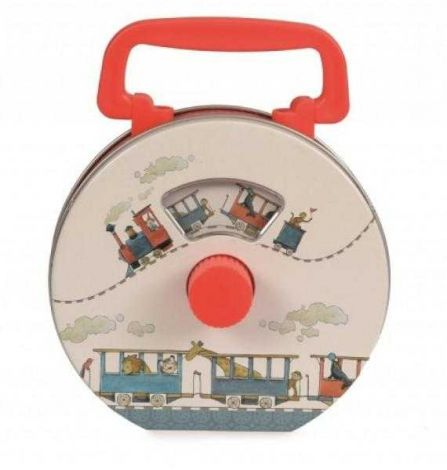 Radio pentru copii, ilustratii tren