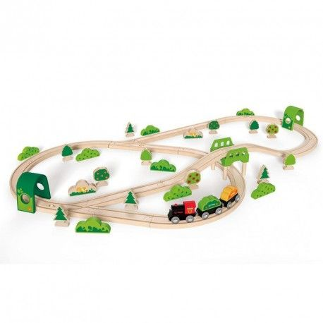 Trenul trece prin padure HAPE