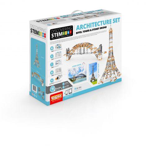 STEM SET DE ARHITECTURA: Turnul Eiffel si Podul Sydney